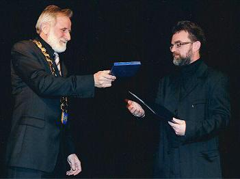 Peter Valtl, dobitnik Bernekarjeve nagrade, 2011