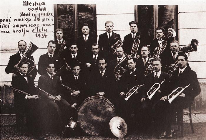 Mestna godba Slovenj Gradec, 1934